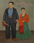 Frida Kahlo - Frieda and Diego Rivera, 1931