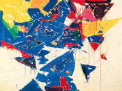 Sam Francis - Middle Blue III, 1959
