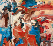 Willem De Kooning - Untitled XIV, 1976