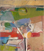 Richard Diebenkorn - Berkeley #23, 1955