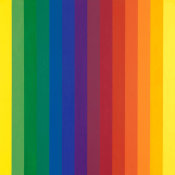 Ellsworth Kelly - Spectrum I, 1953