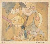 Paul Klee - Fata Morgana at Sea, 1918
