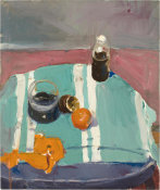 Richard Diebenkorn - Still Life with Orange Peel, 1955