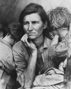 Dorothea Lange - Migrant Mother of 6, Age 32, Now Living in California, 1936