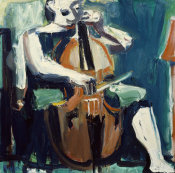 David Park - The Cellist, 1959