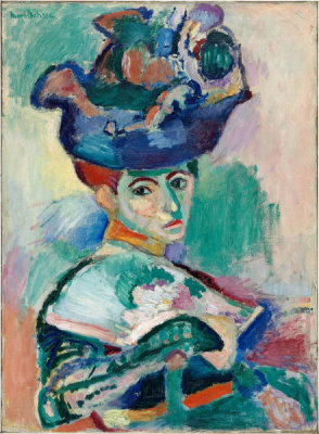 Henri Matisse - Woman with a Hat, 1905