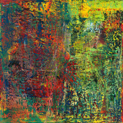 Gerhard Richter - Abstraktes Bild (Abstract Picture), 1987