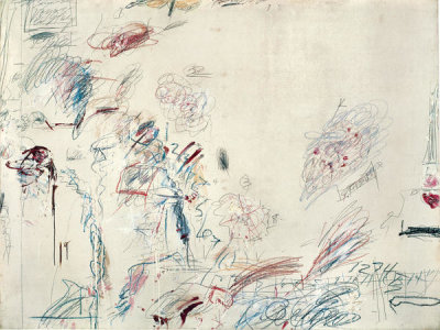 Cy Twombly - Second Voyage to Italy (Second Version), 1962