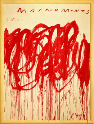 Cy Twombly - Untitled (Bacchus 1st Version IV), 2004