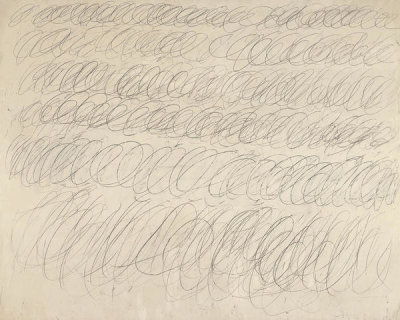 Cy Twombly - Untitled, 1968