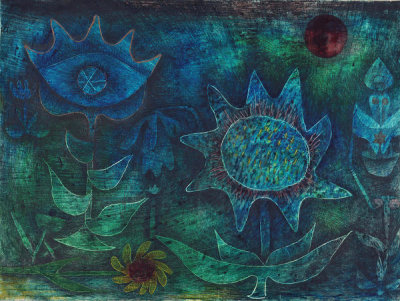 Paul Klee - Blossoms in the Night, 1930