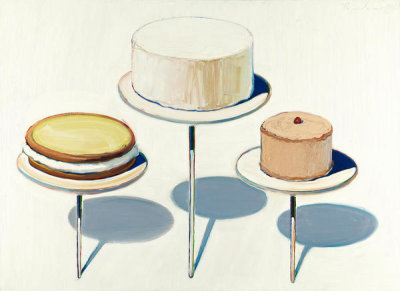 Wayne Thiebaud - Display Cakes, 1963
