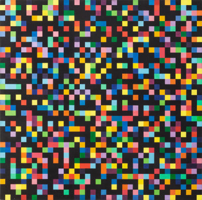 Ellsworth Kelly - Spectrum Colors Arranged by Chance, 1951-1953
