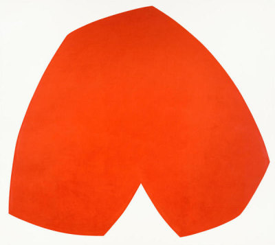 Ellsworth Kelly - Red White, 1962
