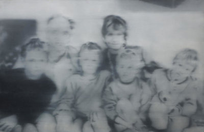 Gerhard Richter - Familie Ruhnau (The Ruhnau Family), 1969