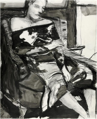 Richard Diebenkorn - Untitled (Woman Seated in a Chair), 1963
