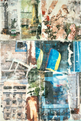 Robert Rauschenberg - Catastrophe (Arcadian Retreat), 1996