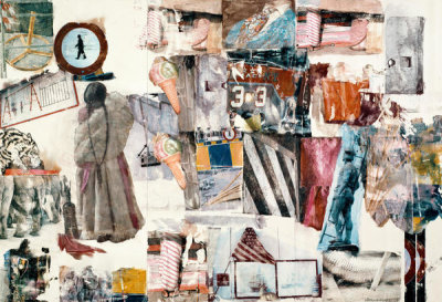 Robert Rauschenberg - Port of Entry [Anagram (A Pun)], 1998