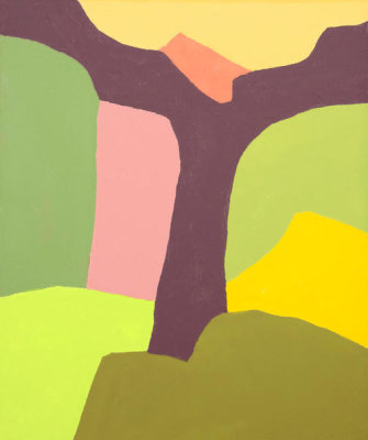 Etel Adnan - Untitled, 2018