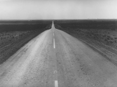 Dorothea Lange - The Road West, U.S. 54 in Southern New Mexico, 1938
